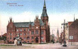 Gelsenkirchen, Rathaus, Ahstraße