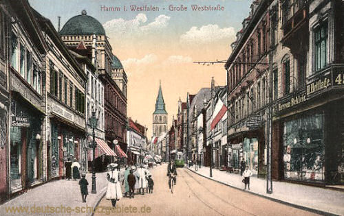 Hamm i. W., Große Weststraße