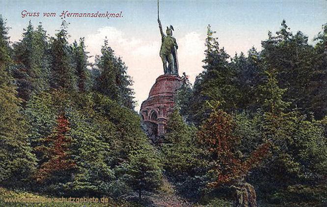 Gruss vom Hermannsdenkmal