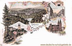 Iserlohn, katholische Kirche, Kaiserplatz, evangelische Kirche