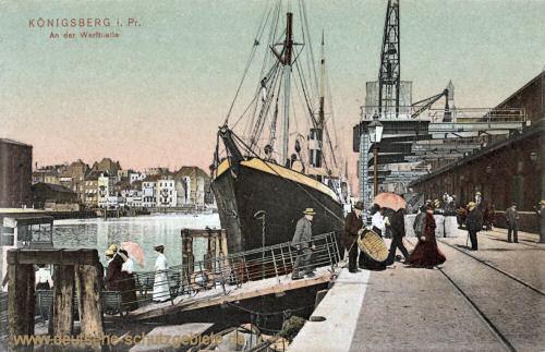 Königsberg, An der Werfthalle