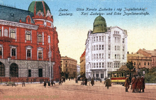 Lemberg, Karl Ludwigs- und Ecke Jagellonerstraße