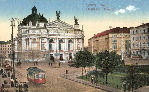 Lemberg, Theater