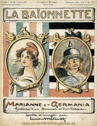 Marianne und Germania