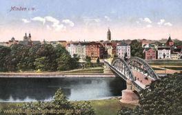 Minden i. W., Neue Weserbrücke