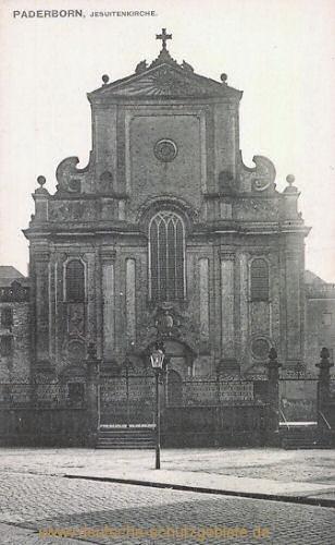 Paderborn, Jesuitenkirche