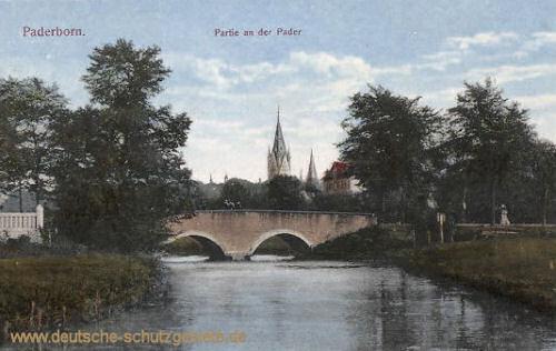 Paderborn, Partie an der Pader
