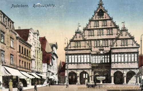 Paderborn, Rathausplatz