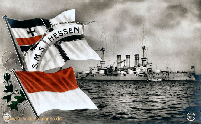 S.M.S. Hessen, Linienschiff