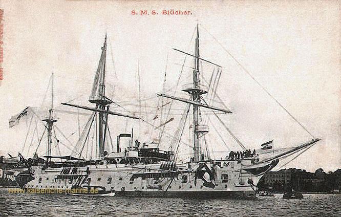 S.M.S. Blücher, Kreuzerfregatte