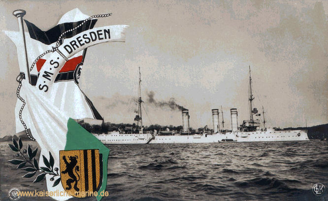 S.M.S. Dresden, Kleiner Kreuzer 1907