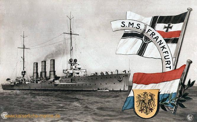 S.M.S. Frankfurt, Kleiner Kreuzer