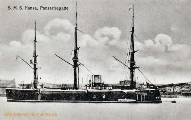 S.M.S. Hansa, Panzerkorvette