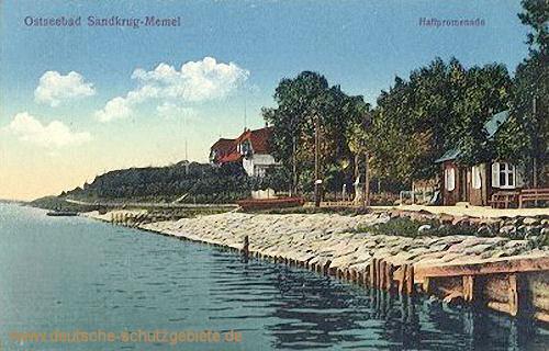 Sandkrug-Memel, Haffpromenade