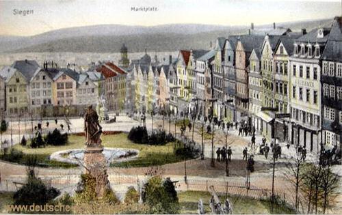 Siegen, Marktplatz