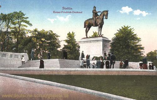 Stettin, Kaiser-Friedrich-Denkmal