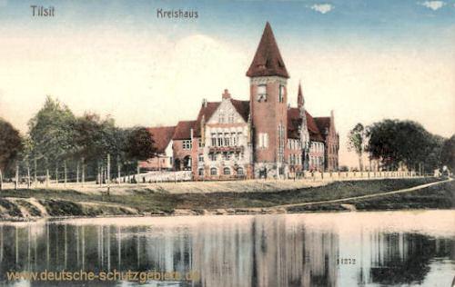 Tilsit, Kreishaus