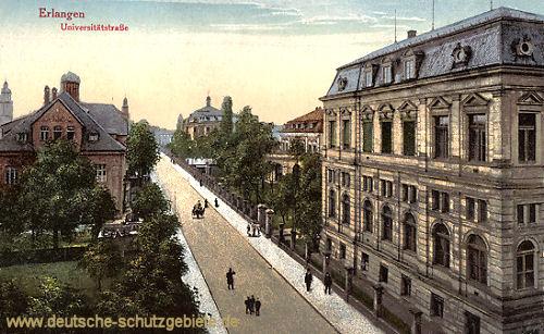 Erlangen, Universitätstraße