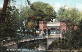 Münster i. W., Eingang Zoologischer Garten