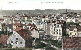 Witten, Blick auf Witten vom Helenenberg