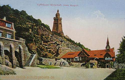 Kyffhäuser-Wirtschaft, Hotel Burghof
