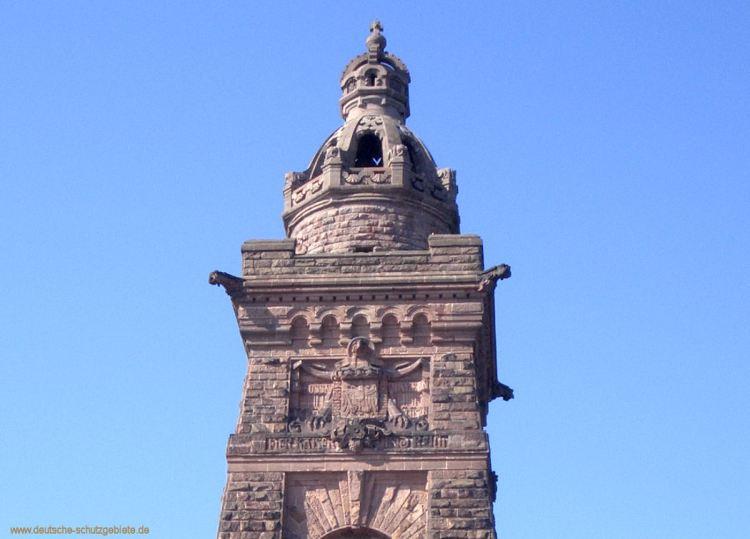 Begehbare 6,60 m hohe deutsche Kaiserkrone