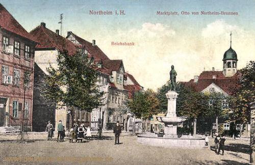 Northeim, Marktplatz, Reichsbank