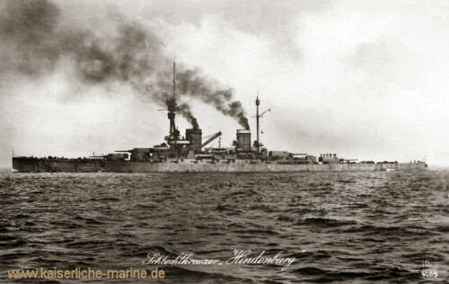 S.M.S. Hindenburg, 1915