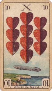 Rot 10 (Zeppelin über England)
