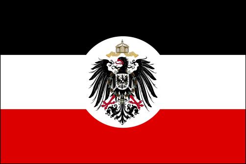 Reichsdienstflagge für das Auswärtigen Amt und die Schutzgebiete (bis 1918)