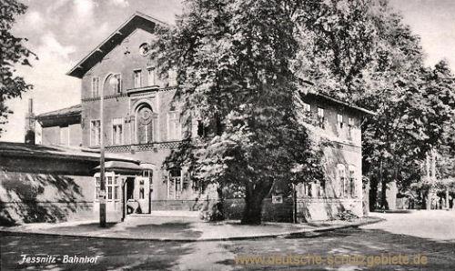 Jessnitz, Bahnhof