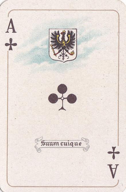 Kreuz Ass (Preußen - suum cuique)