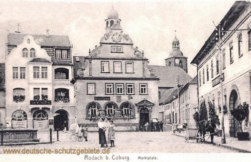 Rodach b. Coburg, Marktplatz