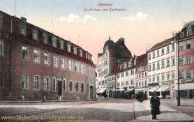 Weimar, Goethehaus und Goetheplatz