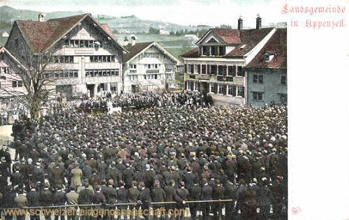 Appenzell, Appenzeller Landsgemeinde