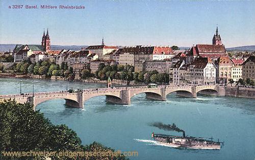 Basel, mittlere Rheinbrücke