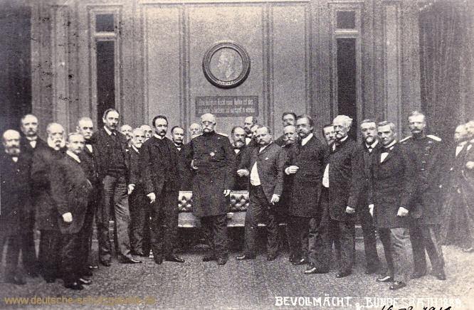 Bevollmächtigte (mit Reichskanzler Otto von Bismarck), Bundesrat 1889