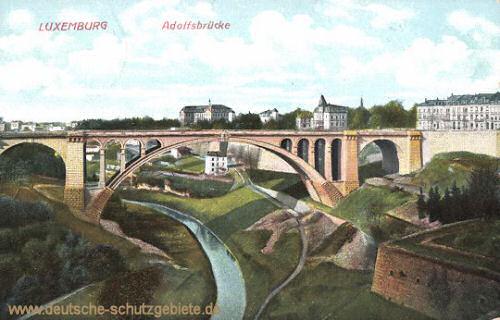 Luxemburg, Adolfsbrücke