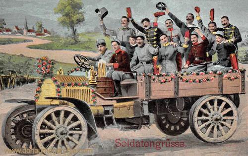 Österreich, Soldatengrüße