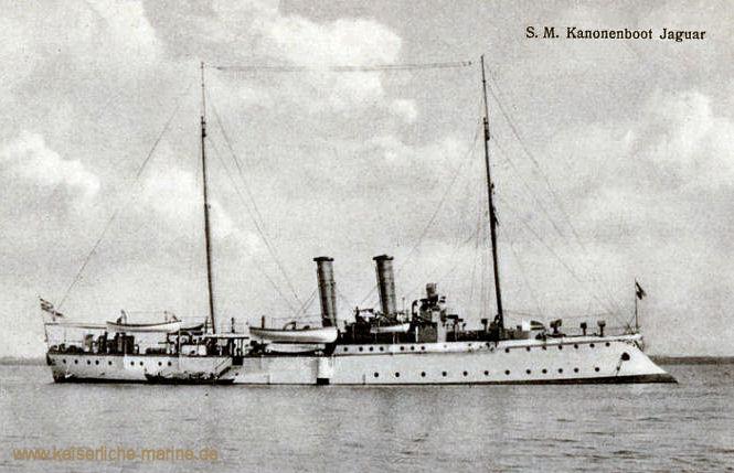 S.M.S. Jaguar, Kanonenboot