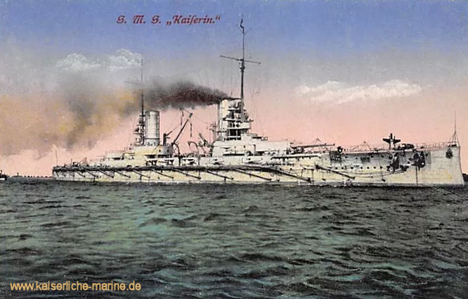 S.M.S. Kaiserin, Linienschiff