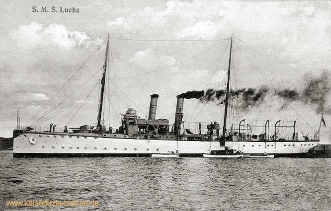 S.M.S. Luchs, Kanonenboot