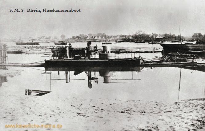 S.M.S. Rhein, Flusskanonenboot