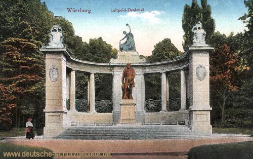 Würzburg, Luitpold-Denkmal