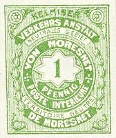 Moresnet 1 Pfennig