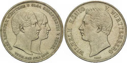 Carl Kronprinz von Württemberg und Olga Grossfürstin von Russland Vermählung 13. Juli 1846, Wilhelm König von Württemberg
