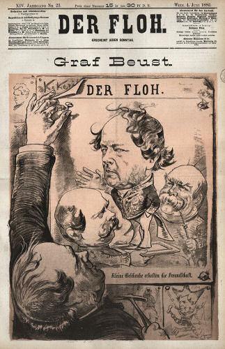 "Graf Beust in ""Der Floh"""