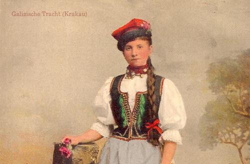 Galizische Tracht (Krakau)