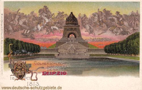 Das Völkerschlachtdenkmal in der ursprünglichen Version von Prof. Bruno Schmitz