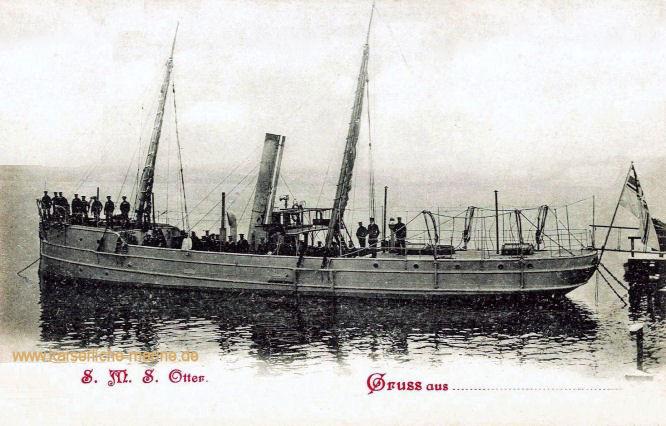 S.M.S. Otter, Kanonenboot